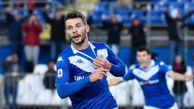 Spalek esulta dopo il suo primo gol in A (LaPresse)
