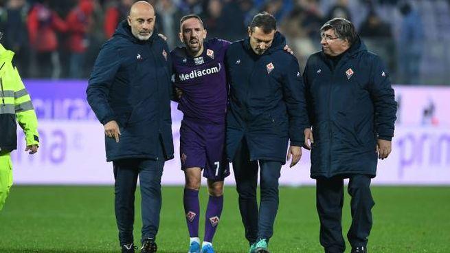 Ribery tornerà in campo per fine febbraio