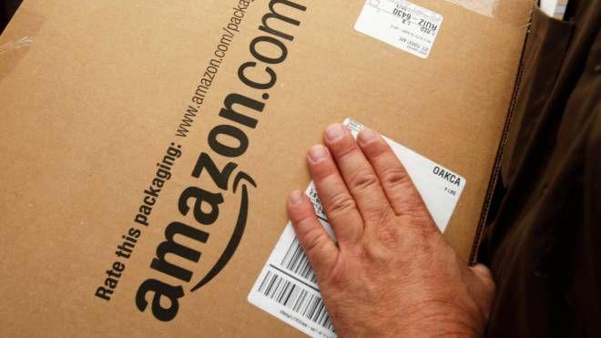 Un pacco di Amazon (Ap)