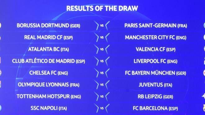 sorteggi ottavi champions 2020 il tabellone europa league ecco i sedicesimi sport calcio sorteggi ottavi champions 2020 il