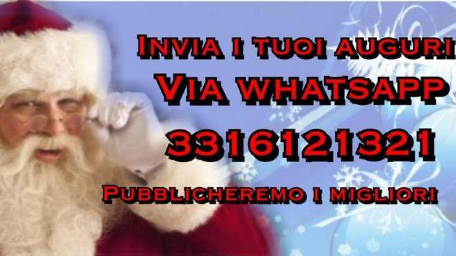 Invia i tuoi auguri via whatsapp
