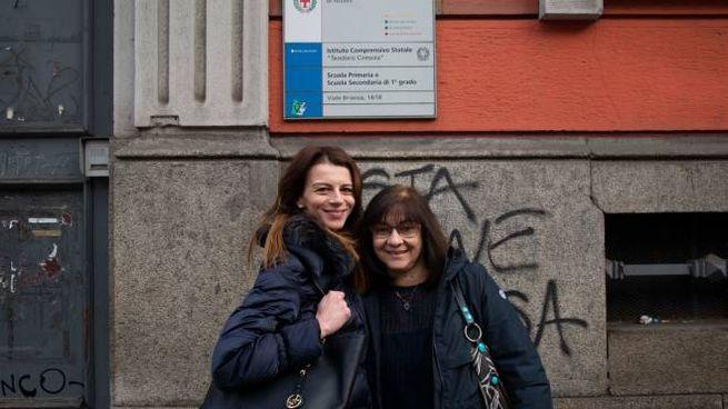 Caterina Cassese e Roberta Neglia, insegnanti alle elementari dell'istituto Ciresola