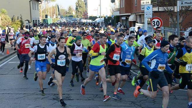 Maratonina della Befana all'Isolotto (foto Regalami un sorriso onlus)