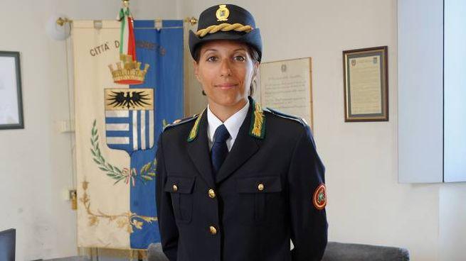 Lia Gaia Vismara, comandante della Polizia locale di Corbetta