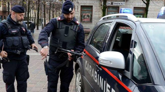 A intervenire sono stati i carabinieri