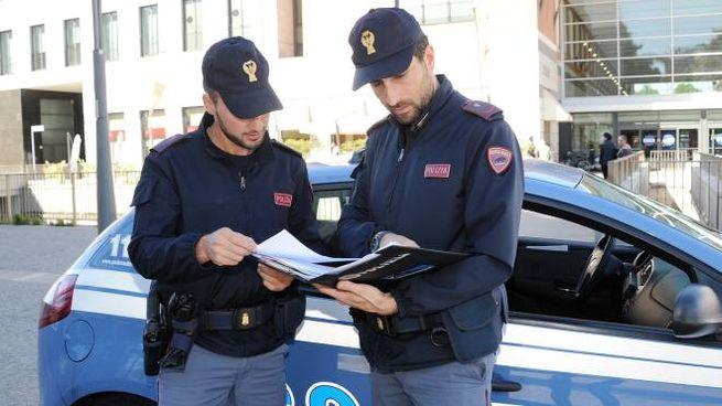 Polizia a Legnano
