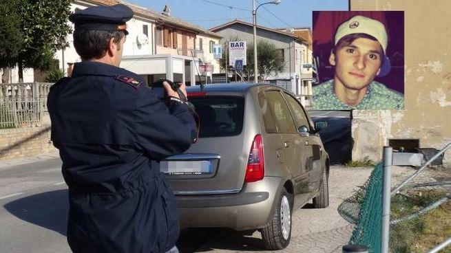 Incidente a Fano, nel riquadro Patrick Mencoboni