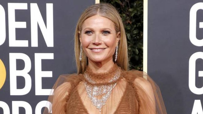 Gwyneth Paltrow ai Golden Globe (Ansa)