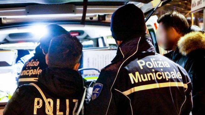 Polizia Municipale in una foto di repertorio