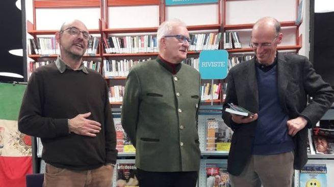 Alberto Benini, Renzo Fallati e il sindaco Alberto Gavazzi