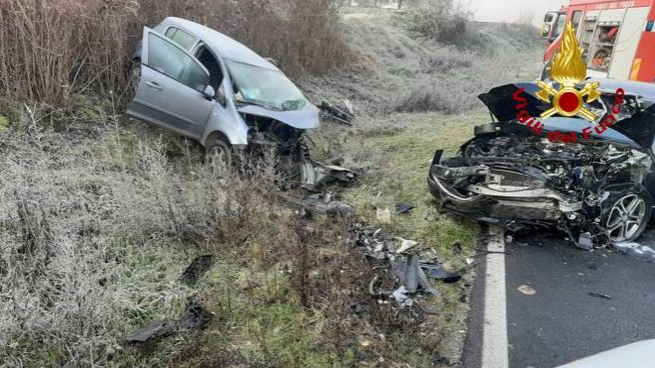 Le auto distrutte