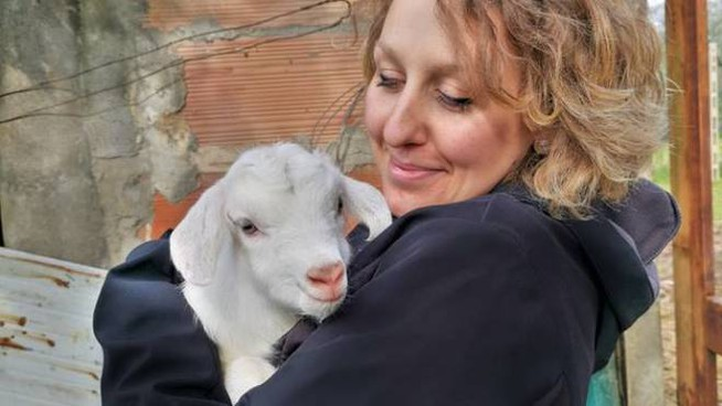 Martina Toninelli, scrittrice/pasticcera, amica degli animali