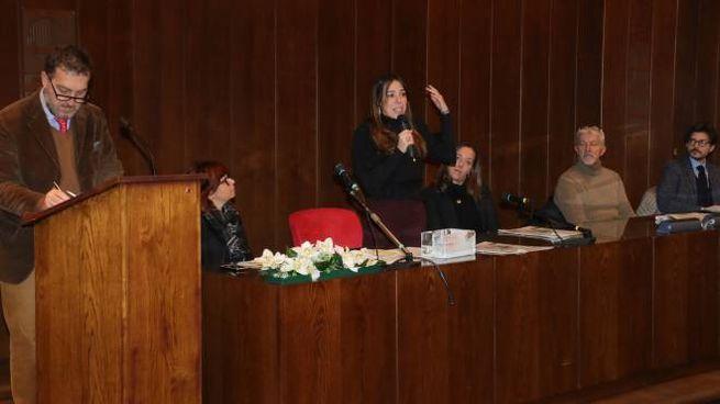 Firenze, la presentazione del Campionato di giornalismo (Marco Mori /New Press Photo)