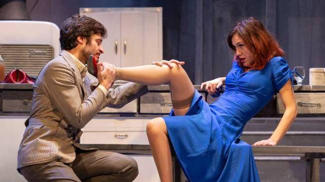 After Miss Julie (Lino Guanciale e Gabriella Pession)
