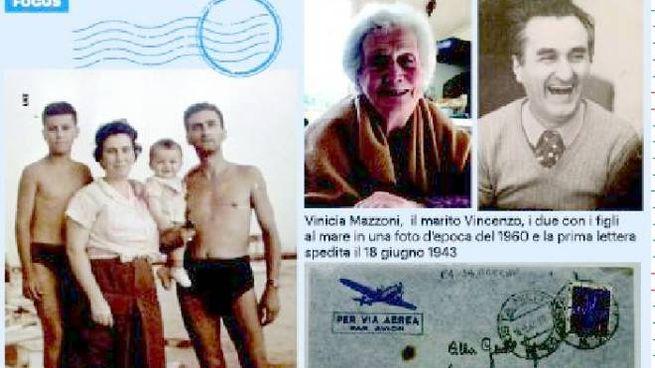 Vinicia Mazzoni e il marito Vincenzo