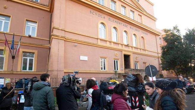L'istituto comprensivo Via Trionfale a Roma (Ansa)