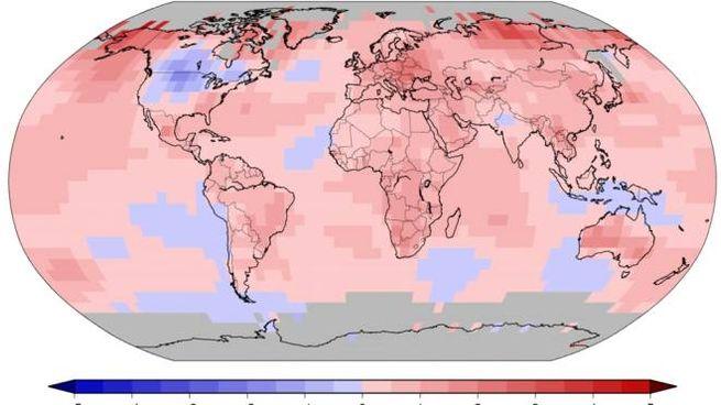 Clima, il rilevamento del riscaldamento globale (Dire)