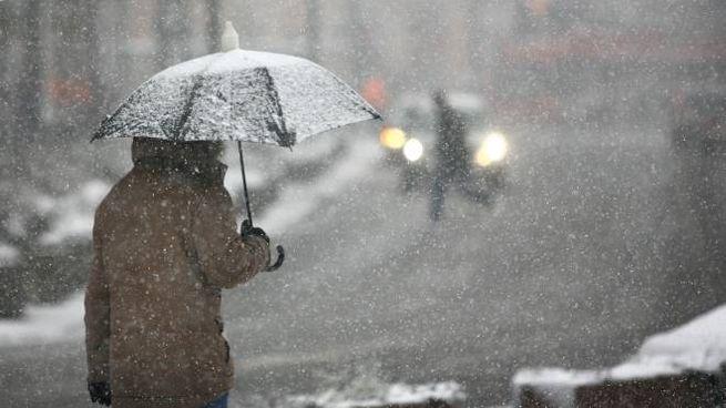 Previsioni del tempo, neve in arrivo (foto iStock)