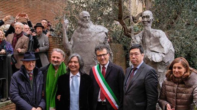 A Vinci l'opera di Wu Weishan (Foto Germogli)