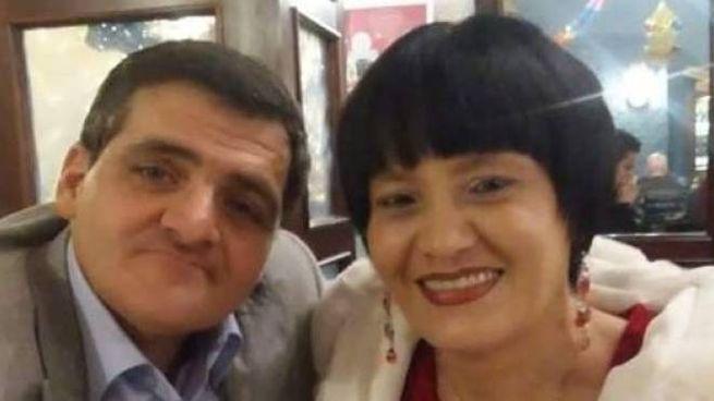 Claudio Furlan e Rita Di Majo alla loro festa di matrimonio dopo la morte di Vito Balboni