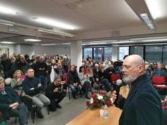Bonaccini 'schiera' Landini  «Correremo più forte noi»