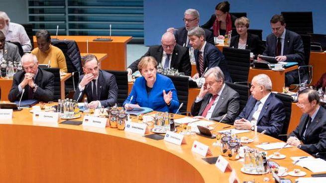 Conferenza di Berlino sulla Libia (Ansa)