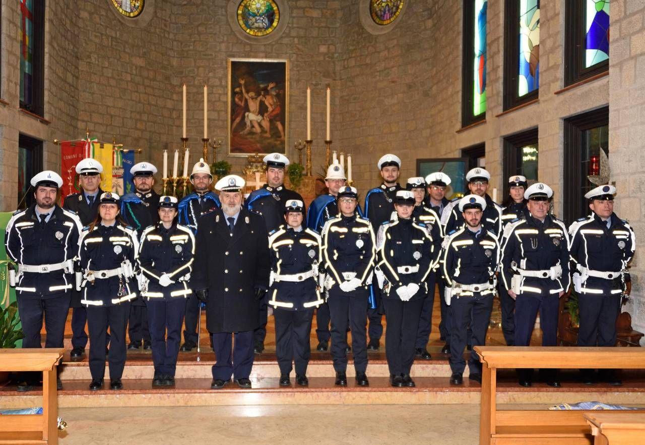 La Polizia Locale del Frignano ha festeggiato ieri il patrono San Sebastiano