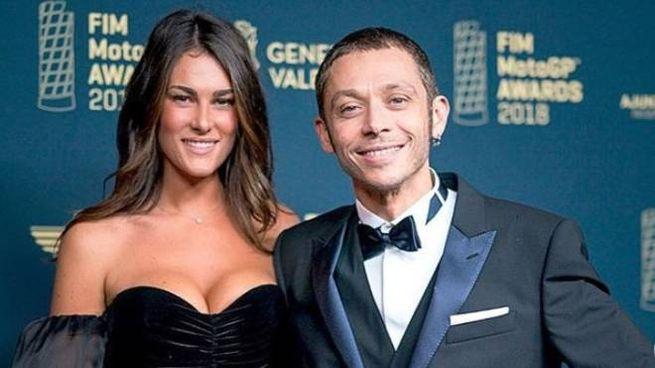 Francesca Sofia Novello e Valentino Rossi