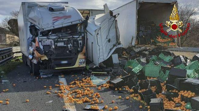 Il terribile incidente sulla A1