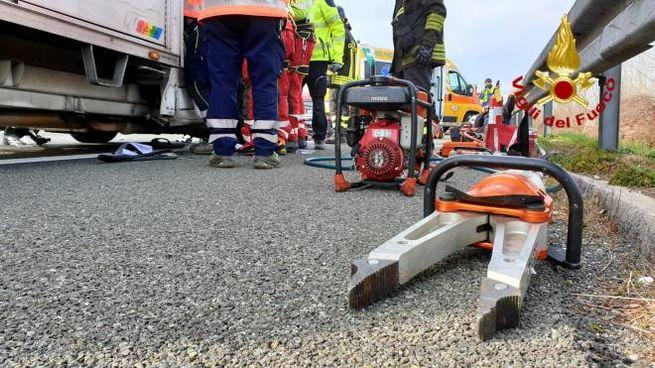 Incidente in autostrada a Seravezza