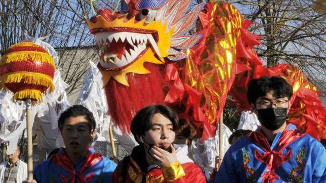 Celebrazioni per il capodanno cinese (Attalmi)