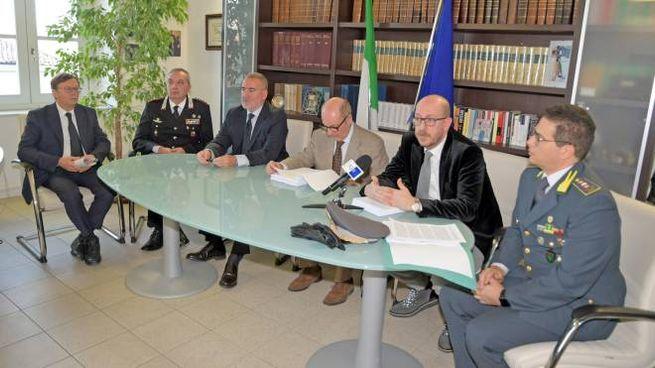 Magistrati e forze dell'ordine svelano i dettagli dell'operazione Dioniso