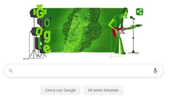 Luis Alberto Spinetta, il doodle di Google