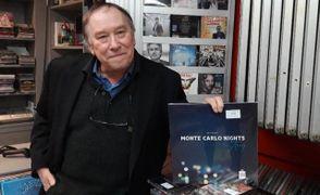 Sergio Pohler dello storico negozio 'Sound Up' che si trova in Corso Alberto Pio, l'attività chiuderà definitivamente i battenti il 31 di questo mese