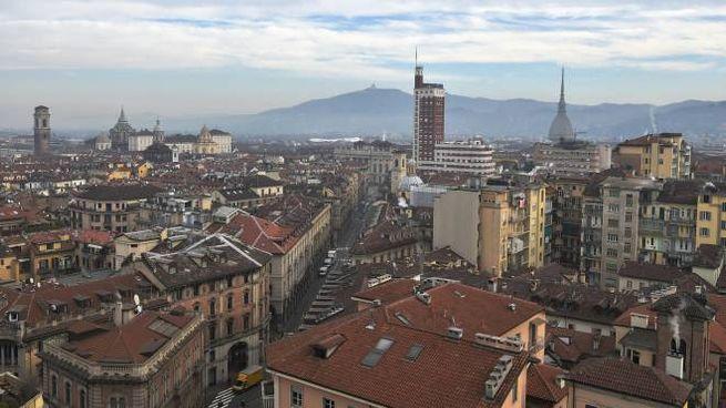 Smog a Torino (Ansa)
