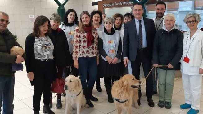 Empoli, presentazione del progetto 'Pet relax'  all'ospedale San Giuseppe