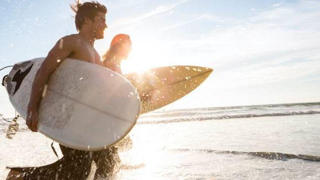 Mete invernali per il surf in Europa