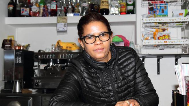 Rebecca, la barista aggredita da un cliente