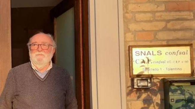 Franco Nardi, responsabile del Caf Snals in piazza Mazzini