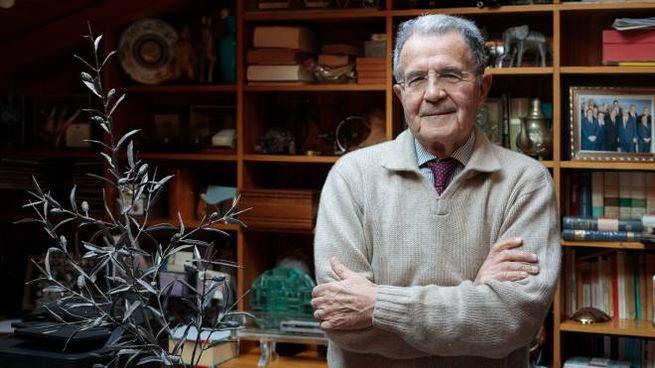 Romano Prodi, 80 anni, originario di Scandiano in provincia di Reggio Emilia