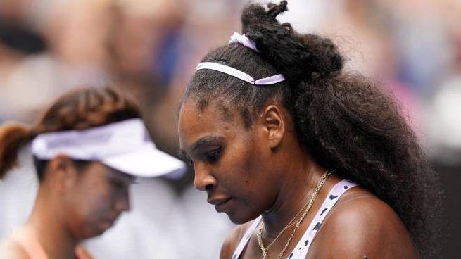 Serena Williams eliminata agli Australian Open (Ansa)