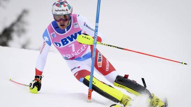 Yule è il primo a vincere tre slalom in stagione