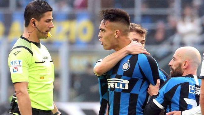 Inter-Cagliari, espulso per proteste Lautaro Martinez (Ansa)