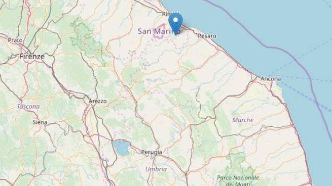 Ecco l'epicentro (dal sito Ingv)