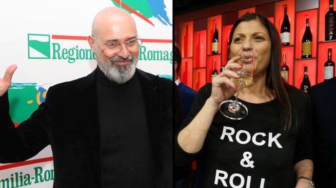 Regionali 2020, i vincitori: Bonaccini e Santelli (Ansa)