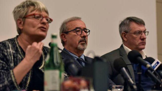 Furlan, Barbagallo e Landini (ImagoE)