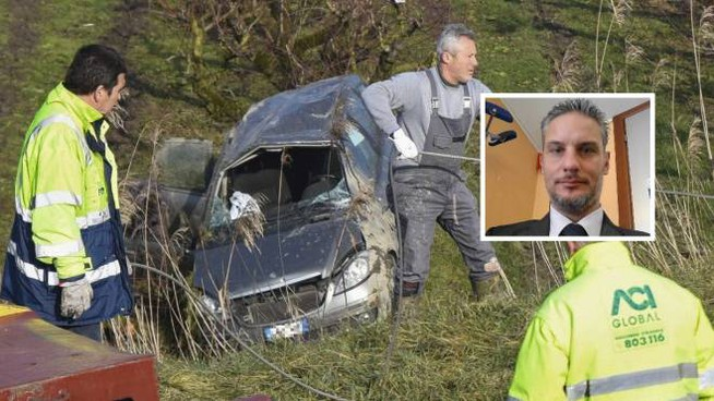Umberto Zampini è morto in un incidente a Gaiba (Foto Donzelli)