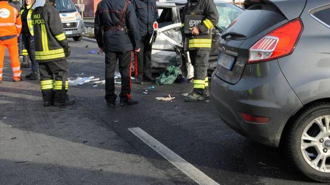 Incidenti, foto generica. In discussione il nuovo codice della strada (Ansa)