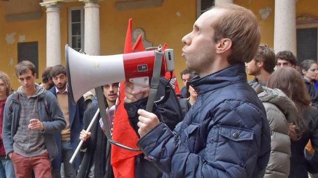 Il presidente di Anpi Pavia, Luca Casarotti