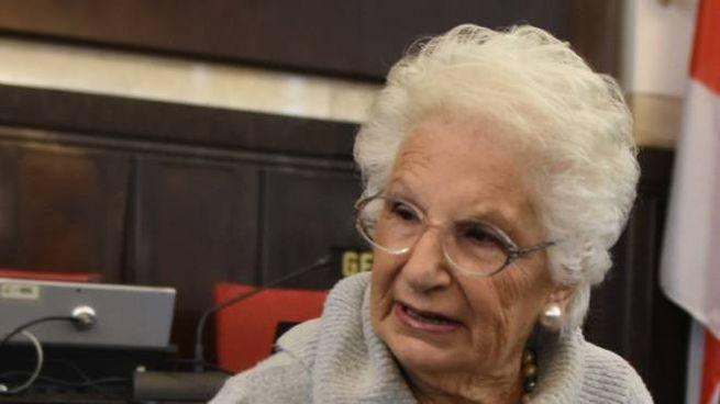 La senatrice a vita Liliana Segre, 90 anni, scampata all'Olocausto